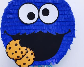 Birthday Celebration Cookie Monster Pinata (Sesame Street). Celebration birthday piñata monster of cookies (sesame) 25 '
