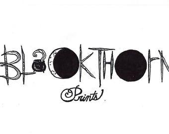 blackthorn prints