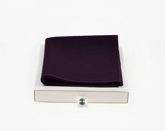 de MORÉ - Burgundy Pocket square