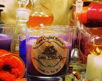 Midnight Jasmine soy candle