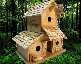 Birdhouse  Reclaimed Pallet Wood  Wedding Decoration