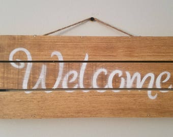 Welcome Sign (Customizable)
