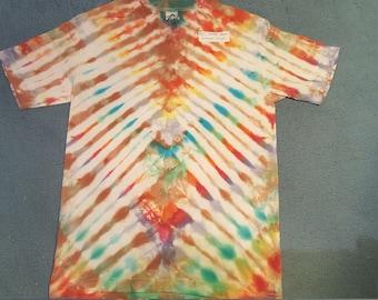 "tie dye t-shirt womens large""earth dragon"""