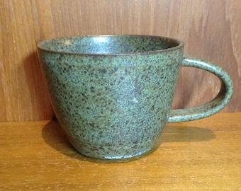 Stoneware coffee cup handmade