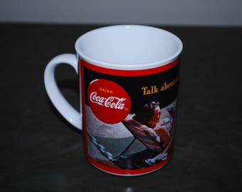 Coca-Cola Through the Years''1943''H2880 coffee mug-vintage made in 1987