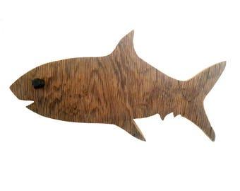 Driftwood Shark, Beach Decor,Vacation Home Decor, Wall Art, Outdoor Decoration, Fish Art, Reclaimed Wood Art