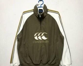 Vintage Canterbury Rugby New Zealand Sweater Sweatshirt