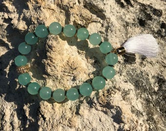 Green Quartzite Bracelet