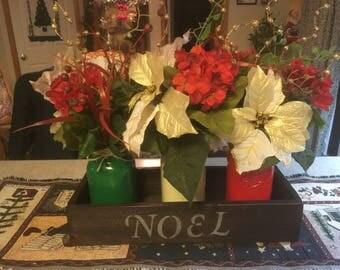 Floral/Mason Jar Arrangement