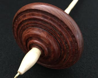 Lacewood and Sugar Maple Drop Spindle