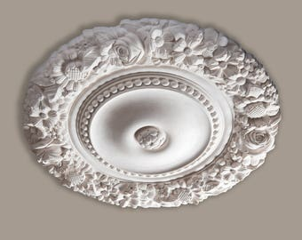 CR10 - Flowers and Rose Ceiling Rose