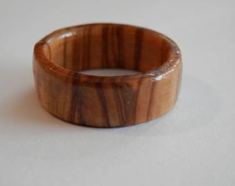 Olive Wooden Ring Jewellery