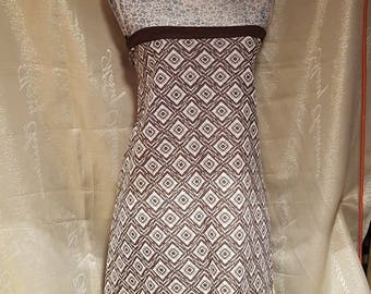 New never worn ladies long/maxi/ gypsy 1970s Brown and cream skirt