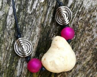 Tree beads, Druid eggs, Hexeneier, power jewelry, witch jewelry