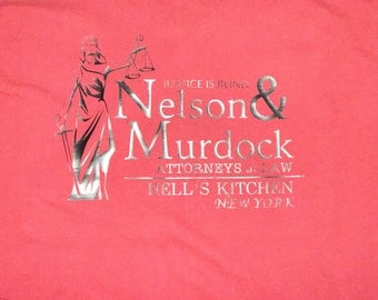 Daredevil T-Shirt | Nelson & Murdock Attorneys at Law - Long sleeved, Short sleeved or no sleeved.
