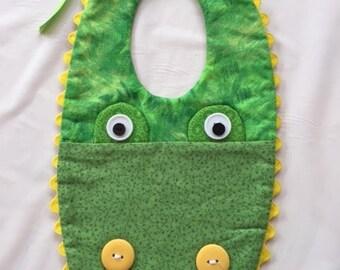 Alligator Baby Bibs