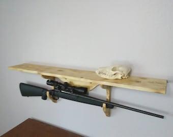 Gun Display Shelf
