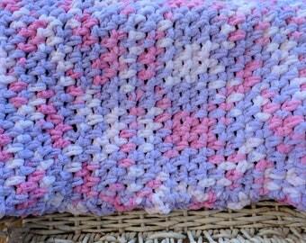 Girls crochet blanket