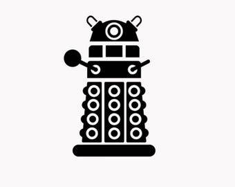 Dr Who Dalek Decal