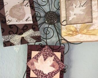 Thanksgiving Card,  Fall Card, Autumn Card, Fall Leaf Card, Thankful Card, So Grateful , Elegant  Handmade card,  Embellished, Customizable