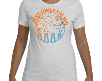 Summer Vacation T-shirt, Here comes the Sun