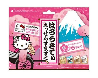 Hello Kitty Japanese Face Masks - Pure Smile