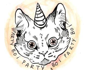 Party Boi sticker