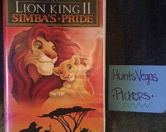 Lion King 2: Simba's Pride VHS Tape