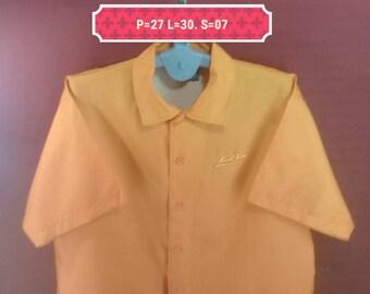 Vintage Karl Kani Shirt Windbreaker Endurance Shirt Neon Orange Colour Size 2X Hip Hop Rapper Nike Windbreaker Helly Hansen Winbreaker Neon
