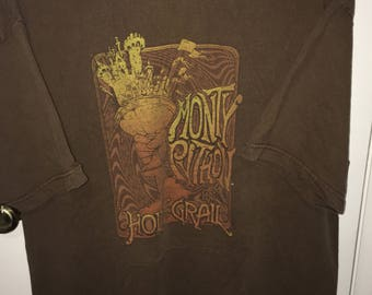 Monty python and the holy grail tshirt size xl