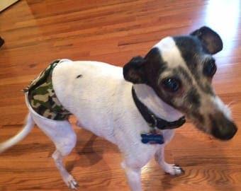 Dog Denton. Male Dog Belly Band, Male Dog Diaper, Custom Fit Male Dog Belly Band. Super Strong Belly Band