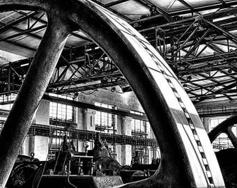 Photo industrial themed large 80 x 60 on satin photo paper