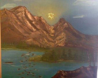 Sparkling Sun oil painting
