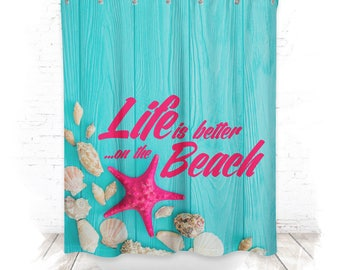 Shower curtain / shower curtain 150cm life