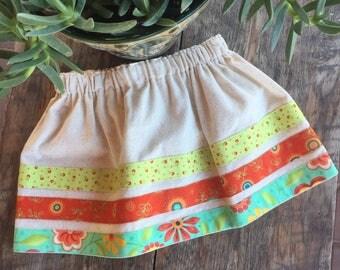 Colorful Stripes Skirt