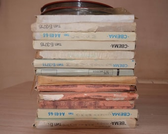 Lot of 15 used reel to reel tapes from USSR 35