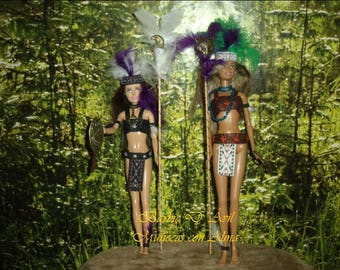 Barbies Ooak exclusive tribal Amazon includes story of its own history