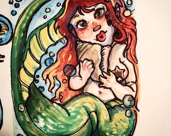 The Itty Bitty Mermaid