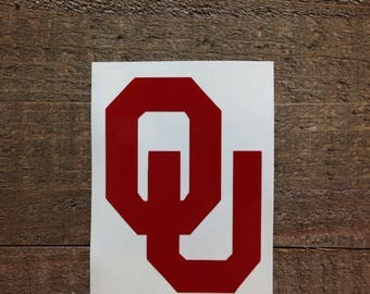 University of Oklahoma Sooners Vinyl Decal