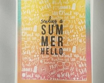 Bright Summer Hello