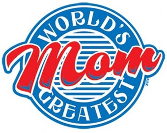 World's Greatest Mom Shirt Father's Day New Various Sizes and Colors Available