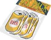 Beer Sticker Six Pack