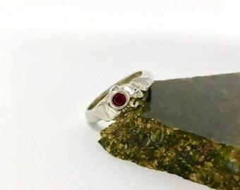 Mermaid's Treasured Silver Ring