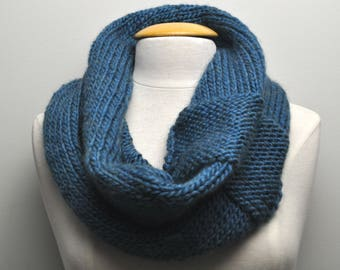 Knit Cowl - Teal