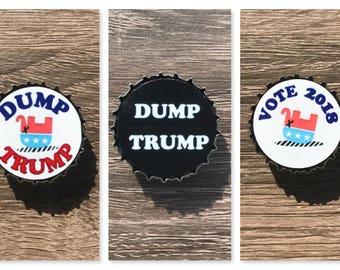 Anti-Trump Magnets (Set of 3)
