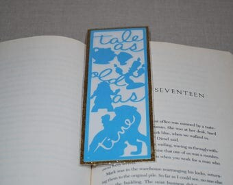 Beauty and the Beast Theme Bookmark