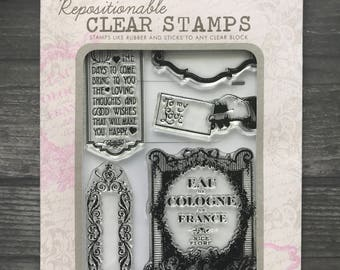 Hero Arts Repositional Clear Stamp Set Exclusive Collection