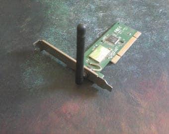 desktop computer wireless adapter card reader 54bp ,sold as parts