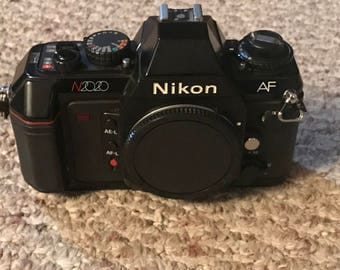 Nikon N2020 Iconic Auto Focus Camera! Body only.