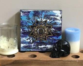 Abstract Mandala Painting
